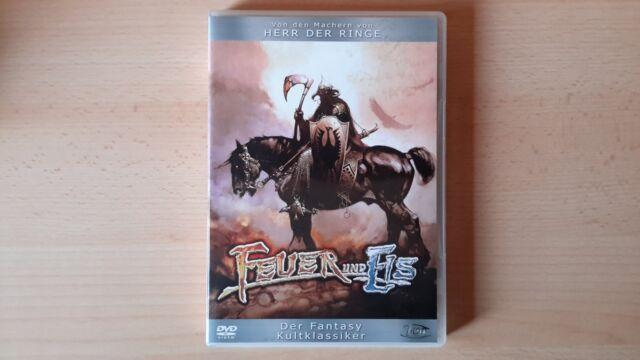 Feuer und Eis (2004, Dvd) Fantasy-Kultklassiker von Ralph Bakshi + Bonus WIE NEU