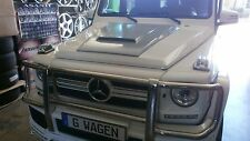 W 463 MERCEDES G.WAGON G500  G55  G63  HOOD SCOOP