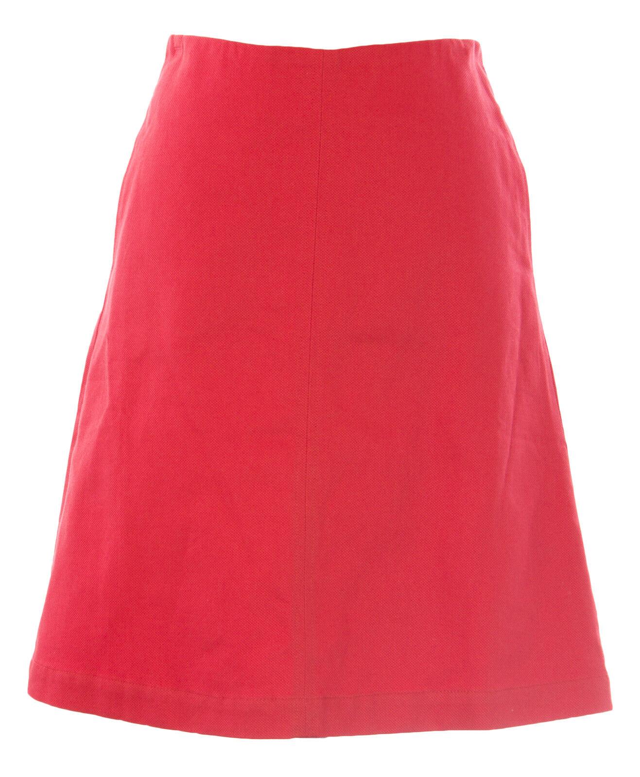 BODEN Women's Deep Carmine Lena Skirt WG528 US Sz 2R  88 NWOT
