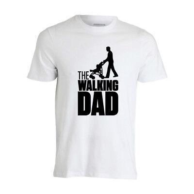 "maglietta t-shirt per papà ""THE WALKING DAD""  taglie varie da uomo MAGLIA"