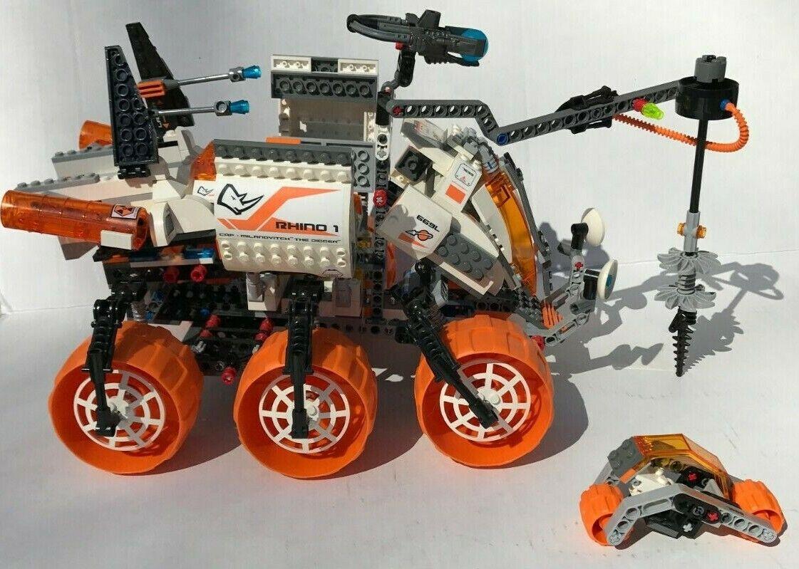 Rare Lego  7699 Space  Mars Mission Armoruge Drilling Unit MT-101 Retirouge Huge  acheter 100% de qualité authentique