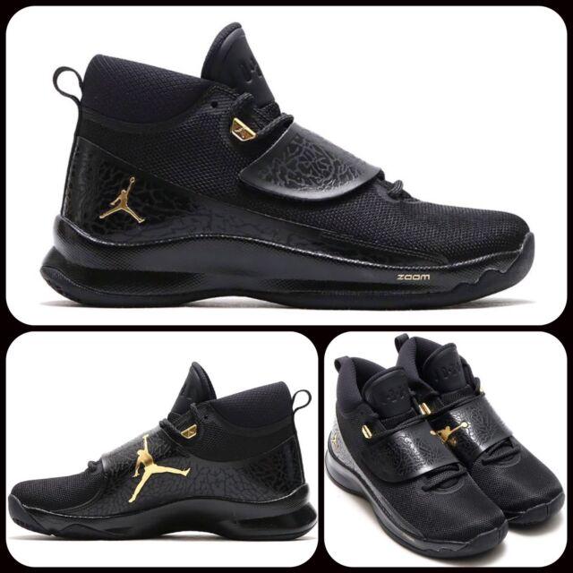 6fe41407f86 Nike Jordan Super.fly 5 PO Basketball Shoes UK 11 EUR 46 Black 881571 015