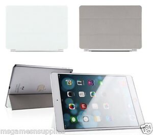 WHITE-iPad-Air-5-5th-Slim-Magnetic-Smart-Cover-with-WakeUp-Sleep-amp-Stand-Case