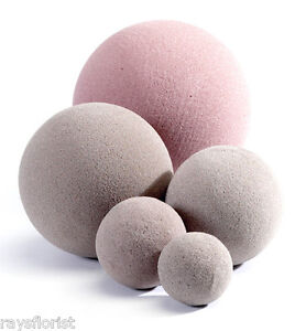 Oasis-Dry-SEC-Foam-Spheres-Silk-Dried-Flowers-Foam-Ball-Several-Sizes-Available