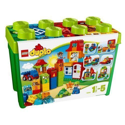 Lego Duplo green container Super Deluxe 10580