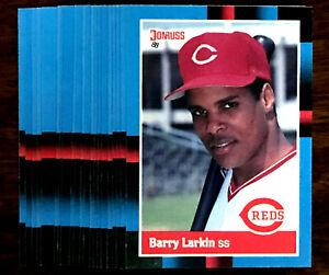 1988 Donruss BARRY LARKIN ~ 20 CARDS LOT ~ REDS SS  HOF HALL OF FAME lNDUCTEE