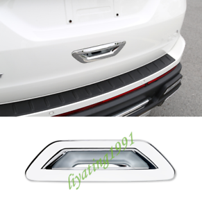 For 13-14 FORD ESCAPE Chrome 4 Door Handle Rear Trunk Logo Cover Tailgate