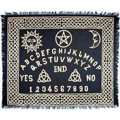 "Ouija-Board altar cloth 24"" x 30""-Seance/Wicca/Fortune"