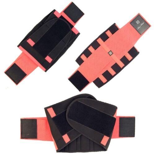 US Unisex Xtreme Power Belt Hot Slimming Thermo Shaper Waist Trainer Faja Sport