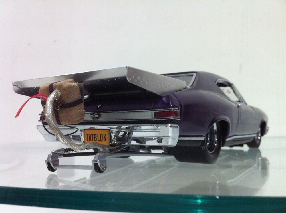 1968 Chevelle SS Pro Street Dragster V8 Hot Rod Mopar 1 24 Diecast Sin Caja