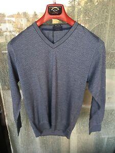 E Shark Collection Pull M V Pelle cotone Luxury Cashmire tg Paul A qRCwB4