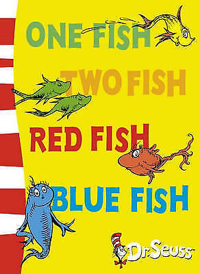 1 of 1 - NEW, DR SEUSS, ONE FISH TWO FISH RED FISH BLUE FISH