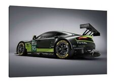 2016 Aston Martin V8 Vantage GTE - 30x20 Inch Canvas - Framed Picture
