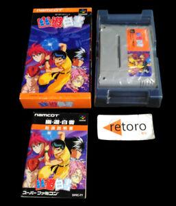 YUYU-HAKUSHO-Yu-Yu-Super-Famicom-Nintendo-SNES-SFC-JAP