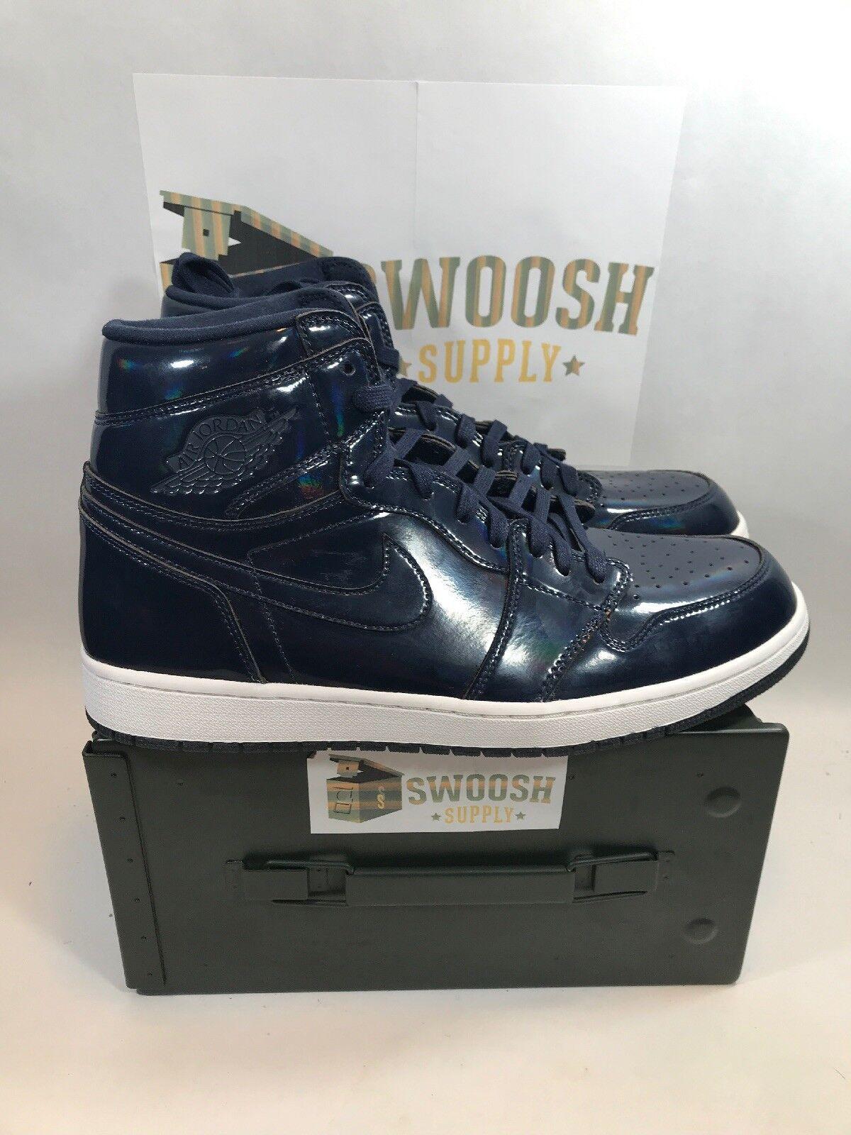 Nike Air Jordan Retro 1 Hi OG x DSM Dover Street Market 789747-401 Size 14