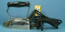 """AUTHENTIC & OLD 4"""" x 2 3/8"""" SMALL ELECTRIC TOY OR TRAVEL IRON CI 868"""