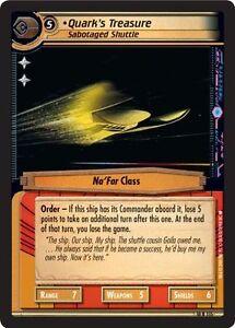 Star Trek CCG 2E Captain/'s Log Dark Pursuit 10R25