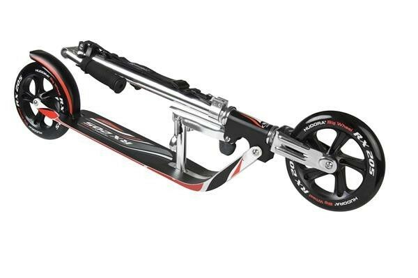 Hudora Big Wheel RX 205 Racing Scooter Roller 14724//01 schwarz rot black//red