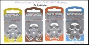 Lot-de-piles-boutons-auditives-Rayovac-appareils-auditifs-A10-A13-A312-A675