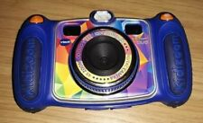 VTech Kidizoom Duo Digital Camera Blue Kids Toys Selfie Photos Learning Games