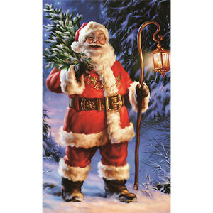 Santa-Claus-DIY-5D-Diamond-Embroidery-Painting-Cross-Stitch-Craft-Home-Decor
