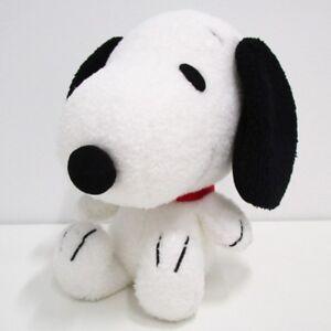 New Snoopy Big Face Plush Doll M PRSN01036676 Peanuts Doll Japan Woodstock