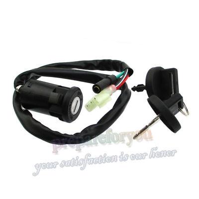 Ignition Key Switch for HONDA 250 TRX250TE TRX250TM 2002-2009 2011-2013 ATV E2