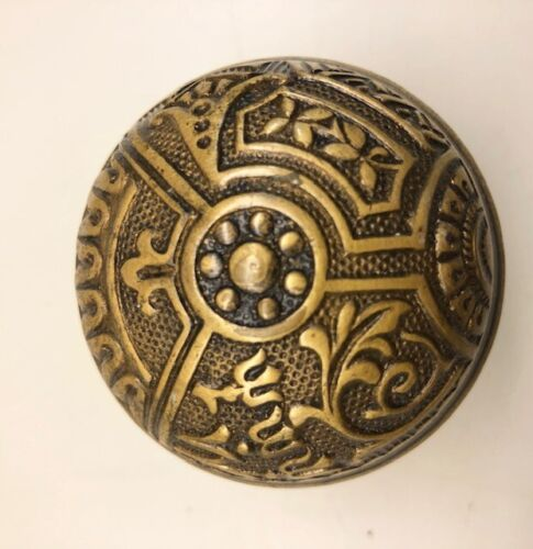 Antique Victorian Eastlake Door Knob Ceylon Corbin Arts /& Crafts mission prairie