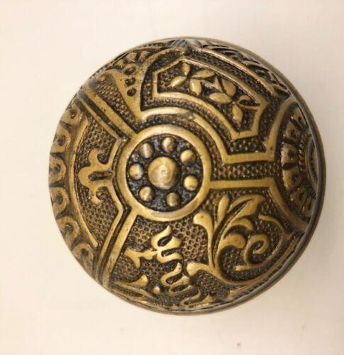 Antique Victorian Eastlake Door Knob Ceylon Corbin Arts /& Crafts mission prairie