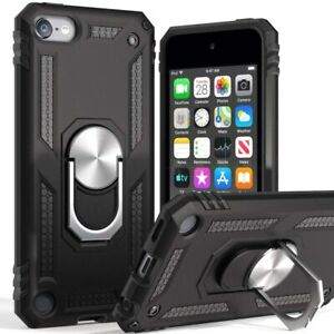 iPod-Touch-5th-6th-7th-Gen-HARD-HYBRID-HIGH-IMPACT-ARMOR-CASE-COVER-ARMY-BLACK