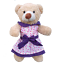 16-inch-40cm-TEDDY-CLOTHES-PINK-DRESS-PRINCESS-DENIM-TUTU-BIRTHDAY-BUTTERFLY thumbnail 4