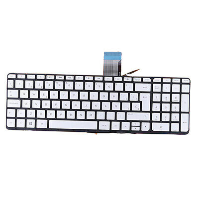 New For HP ENVY X360 m6-aq000 15-aq000 Keyboard Spanish Teclado Backlit Silver