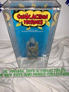 Vintage 1975 Denys Fisher Mego Comic Action Heroes  Batman Acrylic Case RARE