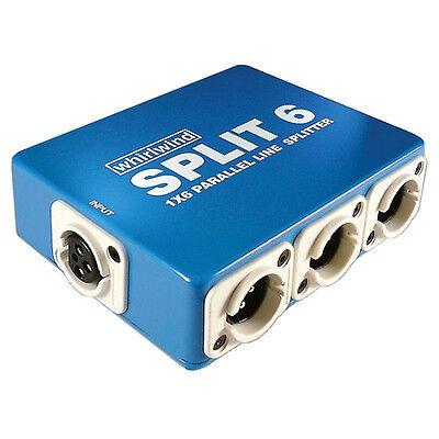Whirlwind SPLIT6 - 1x6 Line Splitter