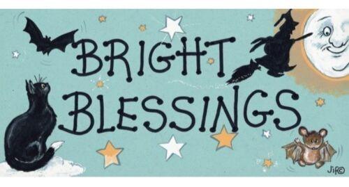 Gatti E STREGHE O16 Bright benedizioni FRIGO CALAMITA-gotici wicca