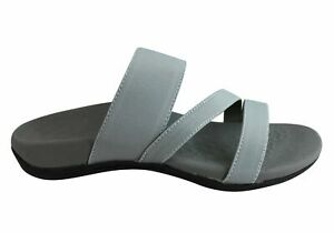 Brand-New-Scholl-Orthaheel-Abyss-Womens-Comfort-Orthotic-Sandal-Slides