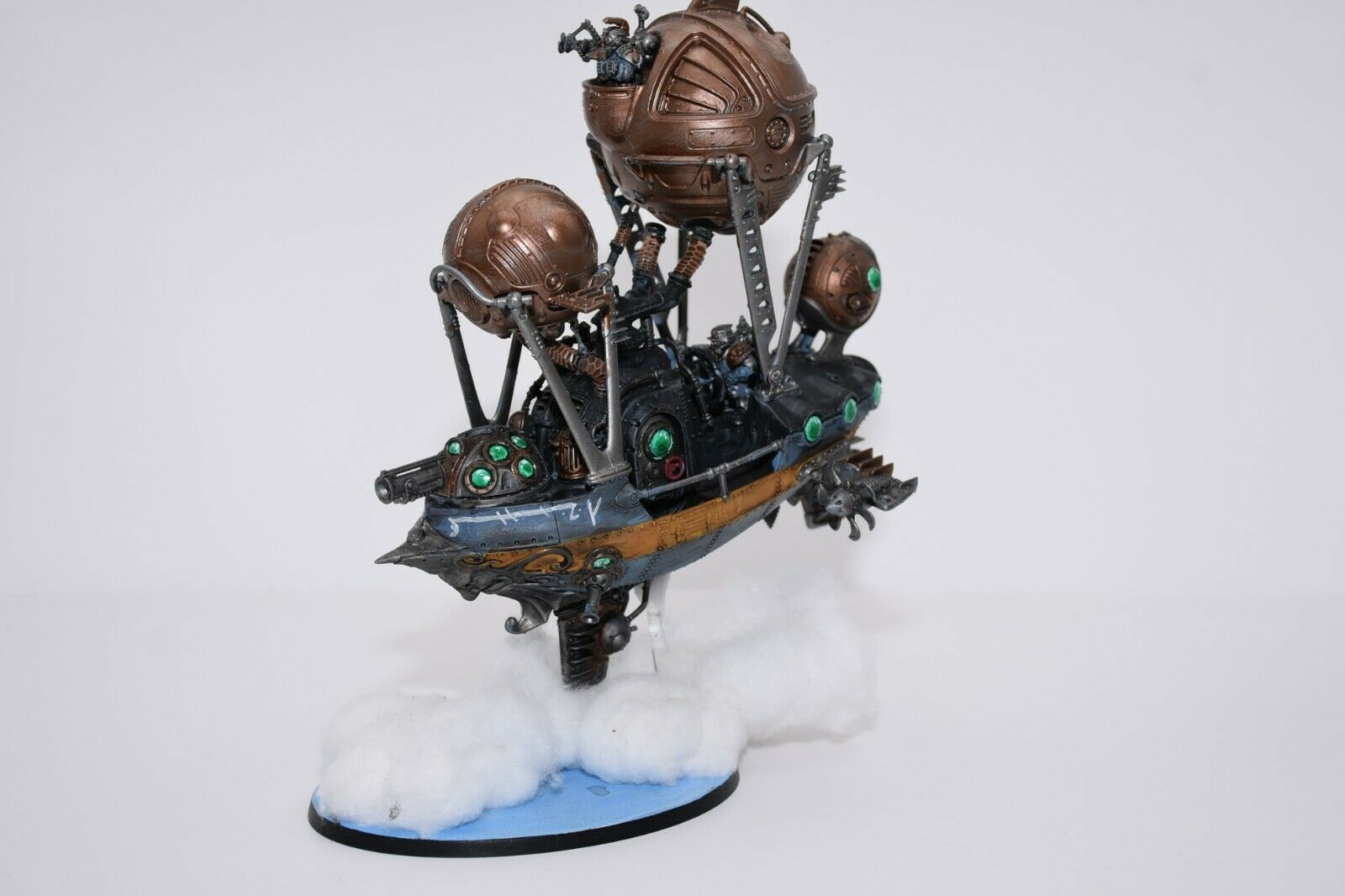Warhammer Age of Sigmar Kharadron Overloads Frigate -Painted- L1