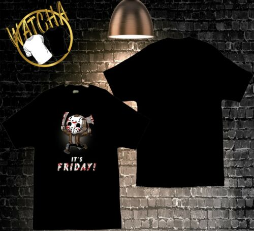 """Friday the 13th Jason Voorhees /""""c/'est vendredi/"""" image tee-shirt Homme"""
