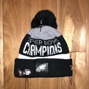 85a63938c0b NEW ERA Philadelphia Eagles Super Bowl LII Champions Parade Knit Hat ...