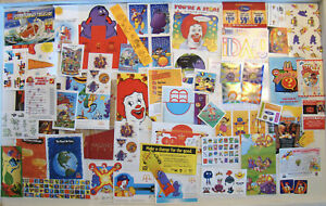 McDonald-039-s-Vintage-Lot-of-Happy-Meal-Premiums-Giveaways-Treat-of-the-Week-A