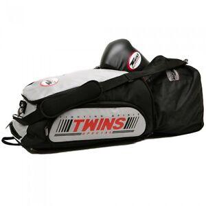 Twins-Sporttasche-und-Rucksack-CBBT-2-grey-Kickboxen-Muay-Thai-MMA-BJJ-usw