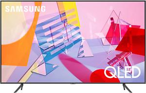 SAMSUNG 75-inch Class QLED Q60T Series - 4K UHD Dual LED Quantum...