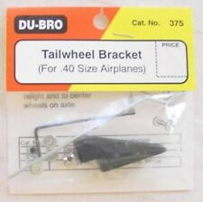 DU-BRO TAILWHEEL BRACKET FOR .40 SIZE AIRPLANES CAT. # 375