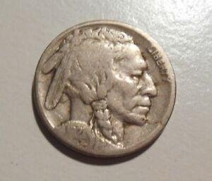 1921S-Indian-Head-Buffalo-nickel-circulated-1921-S