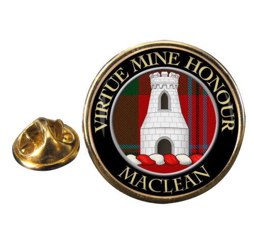 Maclean Scottish Clan Crest Lapel Pin Badge