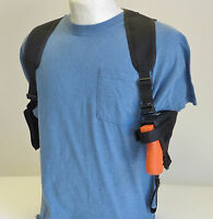 Shoulder Holster For Springfield Xd Subcompact With Laser - Dbl Mag Pouch