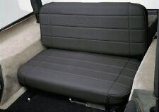 Smittybilt 8001N Standard Rear Seat Black Vinyl for 55-95 Jeep CJ & Wrangler