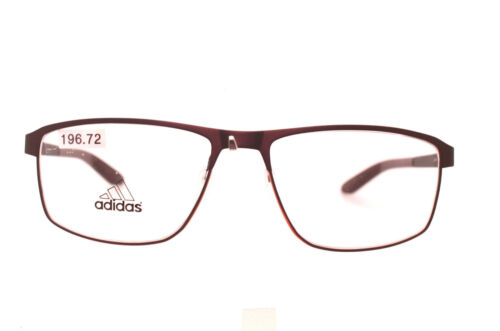 ADIDAS Af49 40 6057 MATT DARK BRONZE ORANGE METAL FULL RIM GLASSES FRAME