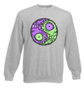 Pullover Zombie Sᄄᆰmbolo Zombies Eater Religiᄄᆴn Yin Signo Diversiᄄᆴn Sudadera Cerebro Yang q0pr4x0t