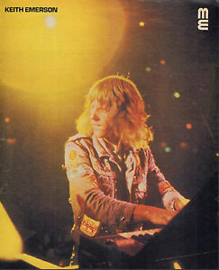 Details zu KEITH EMERSON - PHOTO'S + ARTICLES FROM DUTCH MUSIC MAGAZINES  1970-1973